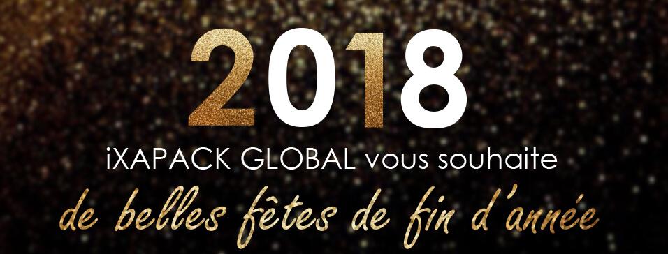 Bonnes fêtes de fin d'année avec iXAPACK GLOBAL !