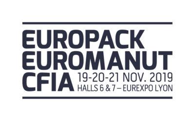 Événement | EUROPACK-EUROMANUT-CFIA | Lyon | 19-21 novembre