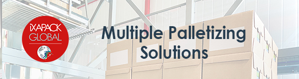 Multiple Palletizing Solutions iXAPACK GLOBAL