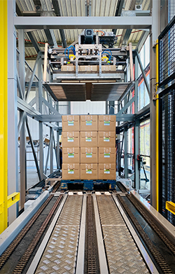 Cartesian Palletizing iXAPACK GLOBAL