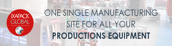 iXAPACK GLOBAL: one single manufacturing site for all your equipment