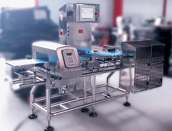 checkweigher with metal detector ixapack