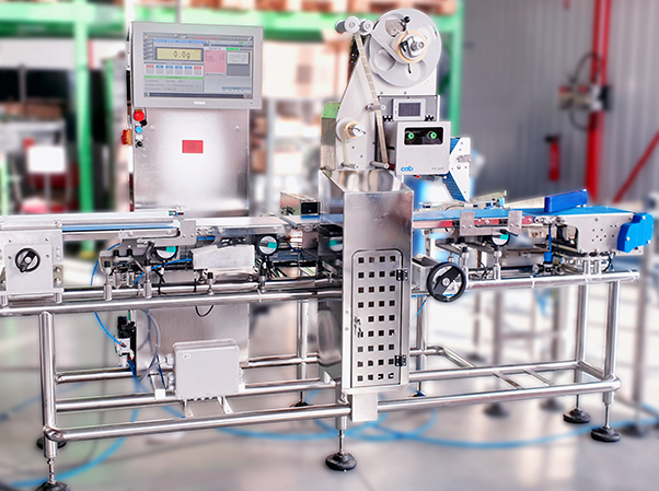 Module pesage étiquetage ixapack global